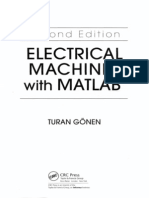 CONTENTSOF MATLAB TO ELECTRICAL MACHINES