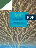 Georg Christoph Lichtenberg - Waste Books - Introduction