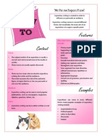how to write an exposition pink