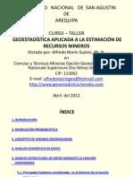Curso Geoestadistica Unsa
