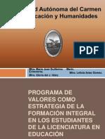 37.Programa de valores como estrategia de la formación integral en los estudiantes de la Licenciatura en Educación (1)