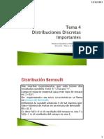 Tema 4 Distribuciones Discretas