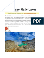 OUR WORLD - 10 Volcano Made Lakes