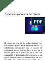 Genética y genómica del cáncer