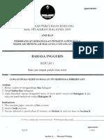 SPM Trial 2009 BI (Perlis)