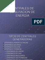 Centrales de Generacion de Energia