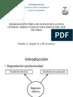 DEGRADACIÓN FÍSICA DE SUELOS DE LA ZONA CENTRAL