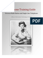 Telephone Training Guide