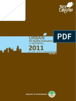 Urban AQ Evaluation in Indonesia 2011 Blue Sky Program Vol1