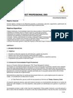 Instructivo Project Professional 2003
