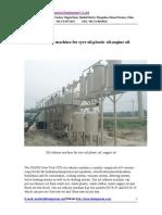 Oil Refinery Machine for Tyre Oil,Plastic Oil,Engine Oil 2014-1-3