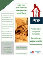 Sept2013 Recomendaciones Para Domicilio