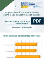 Proyecto Acer - Encuestas_tabletas_alumnado