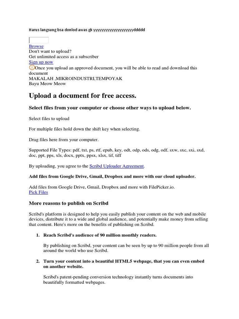Rah Asia Scribd Computer File
