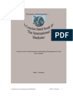 A Hand Book for the International Marketer