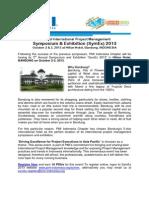PMI Indonesia SymEx 2013 Flyer