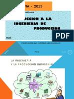 Intro a la Ing. de Producción