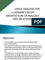 wallace tree multiplier