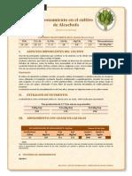 Abonamiento en El Cultivo de Alcachofa
