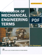 Handbook of Mechanical Engineering Terms