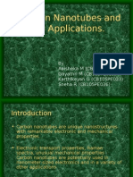 Carbon Nanotubes and Its Applications 1