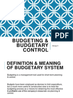 tqm assignment goal organizational culture budgeting budgetary control