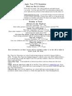 Apple Tree PTO Newsletter September 2009