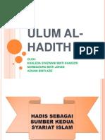 Sejarah Hadith
