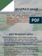 Hadith Menepati Janji