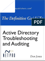 Definitive Guide to Active Directory Troubleshooting and Auditing