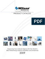 Wilson Amplifiers and Antennas Catalog 2009