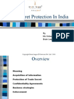 21856845 Trade Secret Protection in India