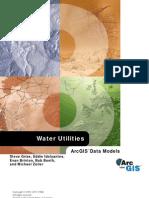 ArcGIS Water Utilities-Data Models For Water Utilities