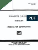 EM 1110-3-152 - Railroads - Mobilization Construction 1