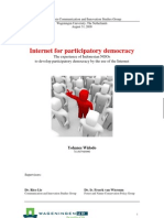 Yohanes Widodo - Internet for Participatory Democracy