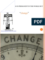 Change Management Ppt MBA