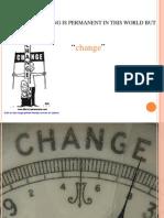 Change Management Ppt MBA