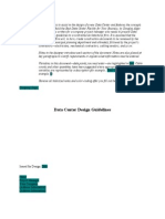 Data Centre Design Guide Line