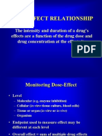 Dose Response and Concentration Response Analysis 2006-2007