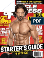 Muscle & Fitness USA - January 2014