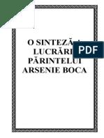 Viata Si Lucrarea Parintelui Arsenie Boca