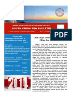 South China Sea Bulletin Vol.2 No.1 (1 January 2014)