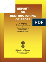 Report on Restructuring of APDRP