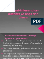 Bacterial Destruction of the Lungs