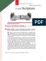 1st Quarter 2014 Lesson 1 Disciples and Scripture