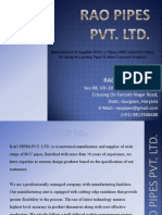 RAO Pipes Private Limited Profile