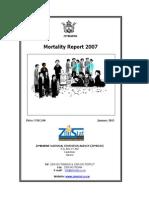 Mortality Report 2007