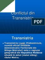 Conflictul Din Transnistria
