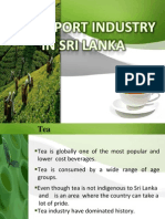 Tea Export Industry In Sri Lanka