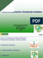Acceso a La Informacion y Participacion Ciudadana 2013